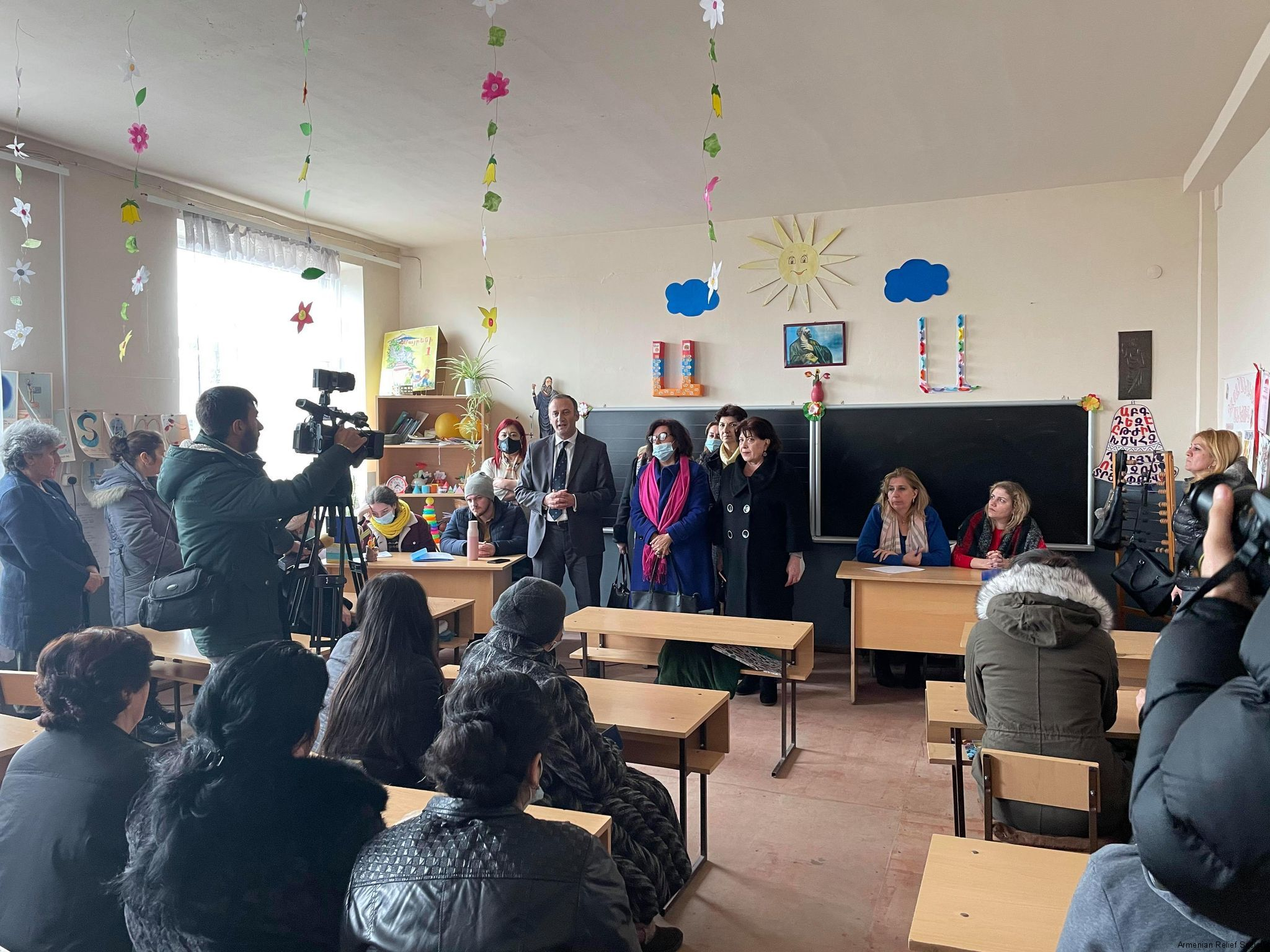ARS Stand with An Artsakh Family
